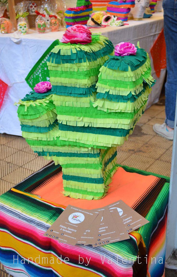 Cactus Piñata   Valentina Piñatas ♥ Ihr kreatives Team mit frischen Ideen. Die schönsten Piñatas in Deutschland! In DE handgemacht mir einer fairen und umweltbewusste Herstellung!