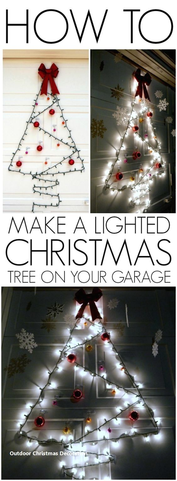 19 Brilliant ideas for Outdoor Christmas decorations: 1. Giant ...