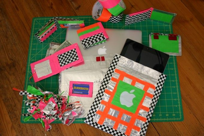 15 best images about duck tape time on pinterest for Duck tape craft ideas