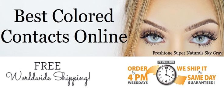 Colored Eye Contact Lenses sells the best colored contact lenses non prescription online