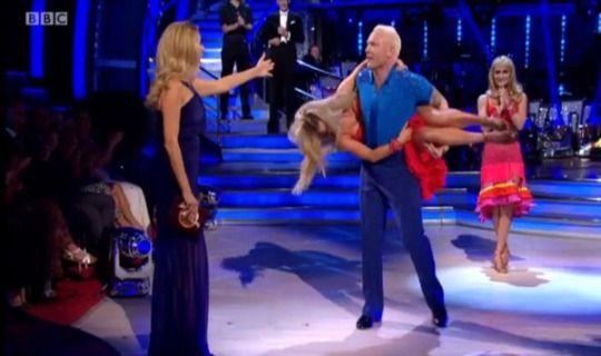 Strictly Come Dancing's Iwan Thomas picks up Ola Jordan