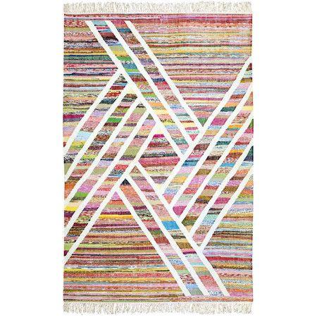 Handgefertigter Teppich 'Tahnee'