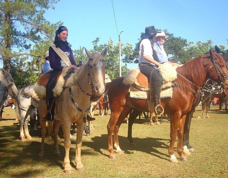 La Miss elegida en el Festival del Ovecha Ragué en Misiones, #Paraguay.