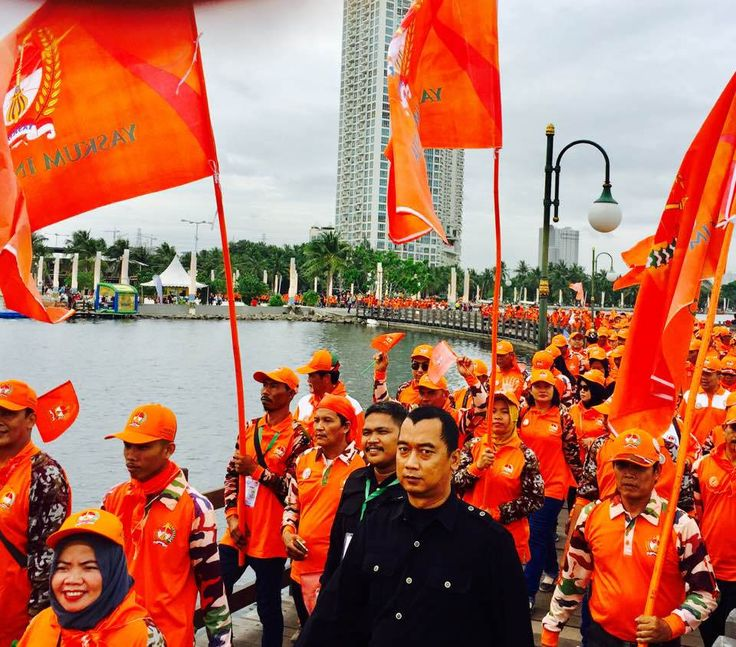 Deklarasi dan Jalan Sehat Yaskum Indonesia & RASI, Ancol 11.12.2016 #yaskum #yaskumIndonesia #abang #bulganon  #rasi#mulhanan #andimiswar #kembangan