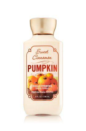 Bath & Body Works Sweet Cinnamon Pumpkin Body Lotion 8 Fl Oz Bath & Body Works http://www.amazon.com/dp/B00NTCV26W/ref=cm_sw_r_pi_dp_WLkVub161ZPKG