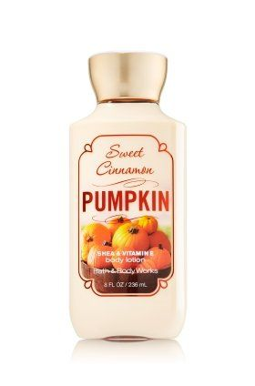 Bath & Body Works Sweet Cinnamon Pumpkin Body Lotion 8 Fl Oz Bath & Body Works http://www.amazon.com/dp/B00NTCV26W/ref=cm_sw_r_pi_dp_WLkVub161ZPKG