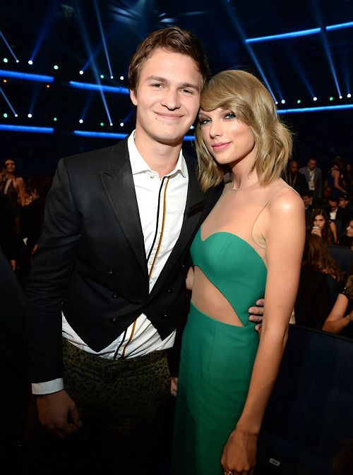 American Music Awards 2014 : Taylor Swift with Ansel Elgort. Please visit our website @ http://22taylorswift.com