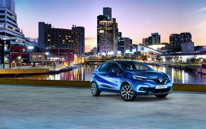 Download Wallpapers Renault Captur 2018 S Edition Compact