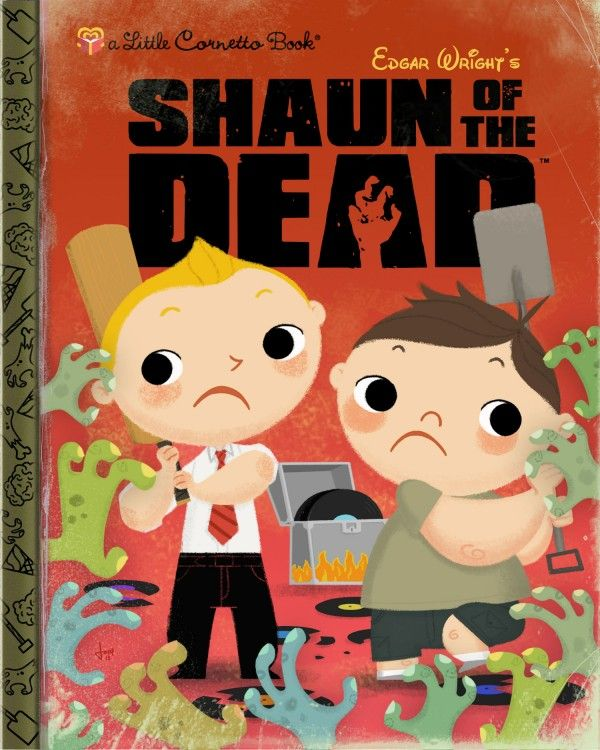 Little Golden Books I Wish I'd Had as a Kid - Shaun of the Dead