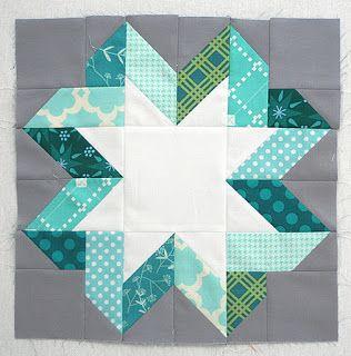Freshly Pieced Modern Quilts: Ribbon Star Block Tutorial