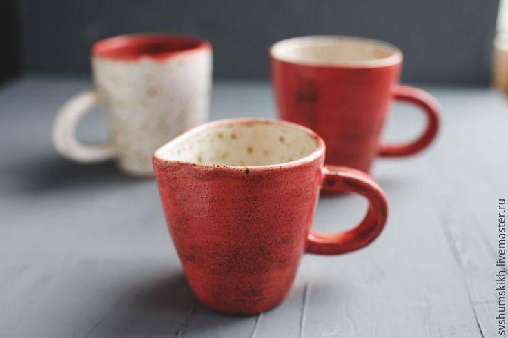 Купить Сливочник - розовый, глина, Керамика, керамика ручной работы, кружка, глина, керамика
