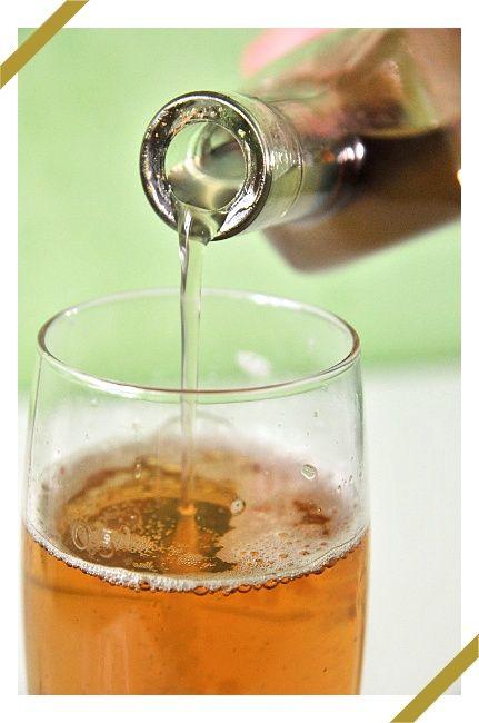 Imbirowo - korzenny syrop do piwa