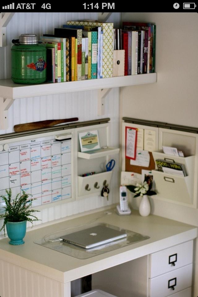 Office Organizing ideas Pinterest