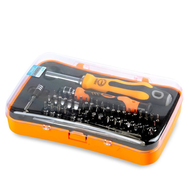 JAKEMY 58 in 1 Professional Electronic Precision Screwdriver Set Hand Tool Set for iPhone PC Repair Tools Kit
