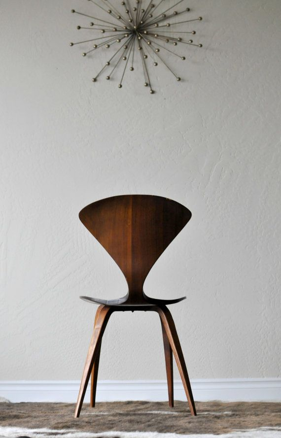 Vintage Norman Cherner for Plycraft Bent Plywood Ant by EuroFair