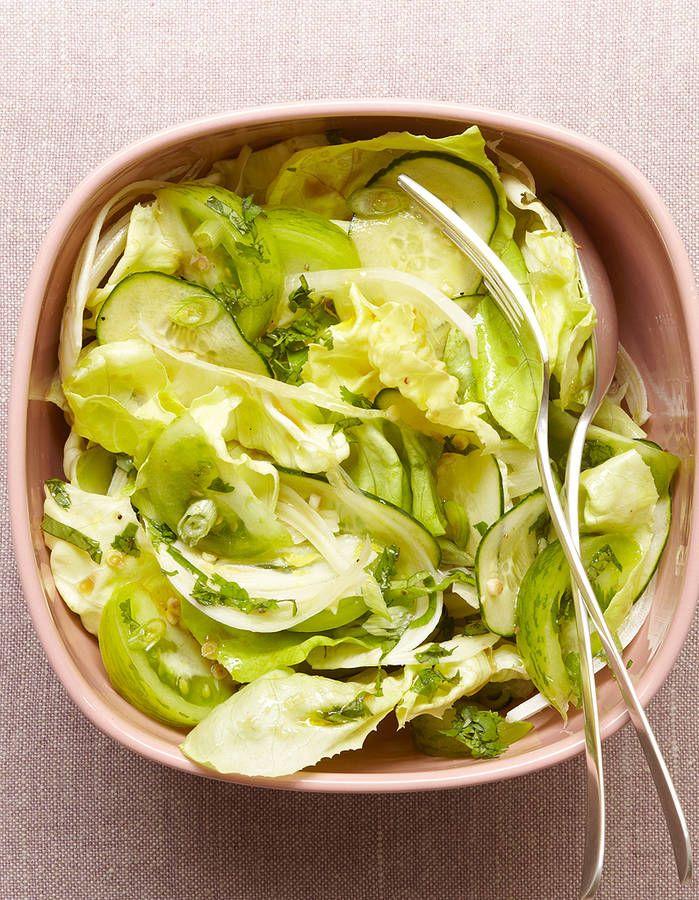 Aliment peu calorique : la laitue / recette minceur / healthy food