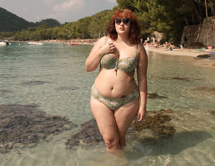 I Am A Plus-Size Woman Who Wore a Low-Rise Bikini to the Beach and This is What Happened | Not a fan of Bustle and don't normally link to it, but I really liked this piece.