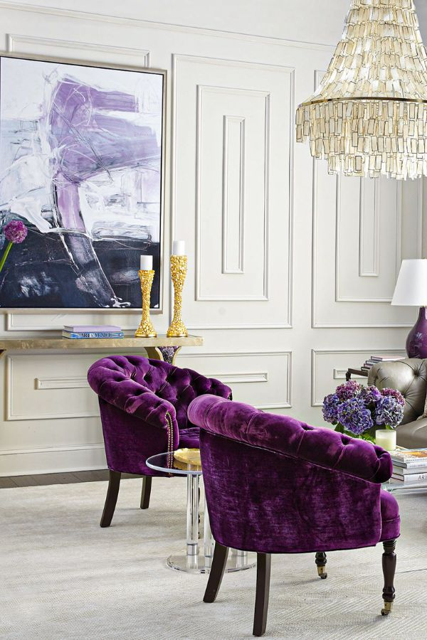 39 Colorful And Purple Living Room Design Ideas In This Year Page 38 Of 39 Lasdiest Com Daily Women Blog In 2020 Purple Living Room Furniture Contemporary Decor Living Room Decor Home Living Room #purple #living #room #furniture #ideas
