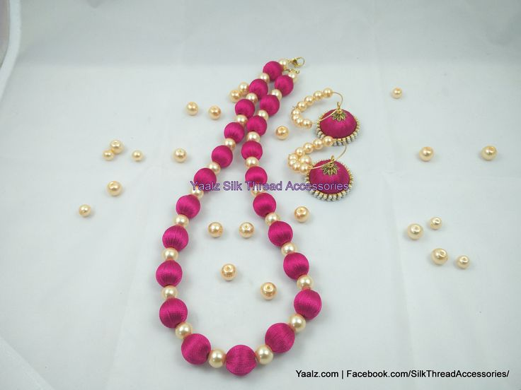 Introducing Simple Neckwear Model with Heavy Glass Pearls!!! Price Rs.550 For Orders Ping Us In Whatsapp +91 8754032250