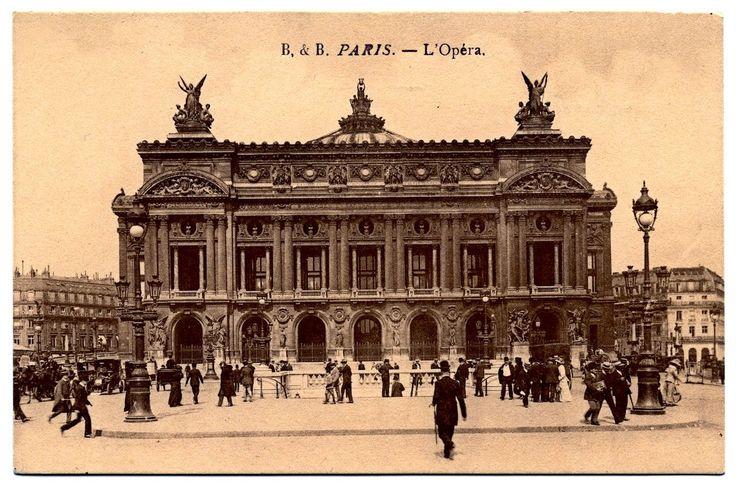 Paris Opera House (for glass tray)