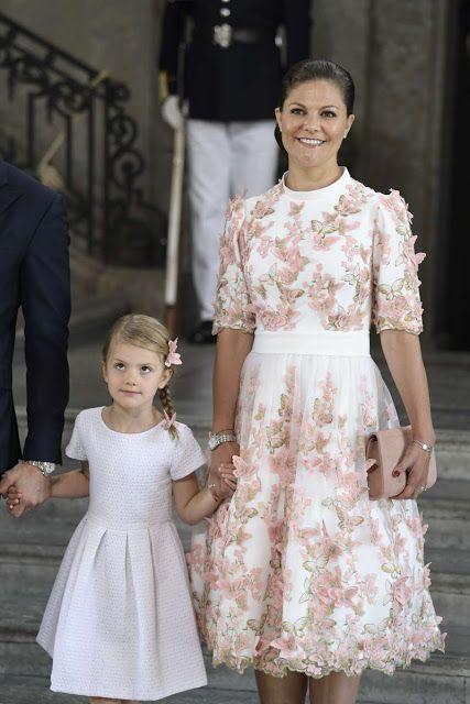 Crown Princess Victoria & Princess Estelle