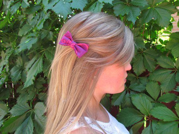 Ruby Razzle Mini Hair Bows Set of 2