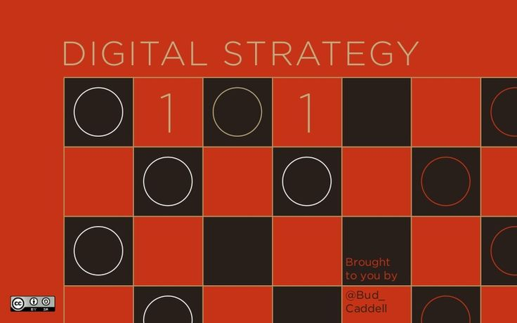 digital-strategy-101-24081694 by Bud Caddell via Slideshare