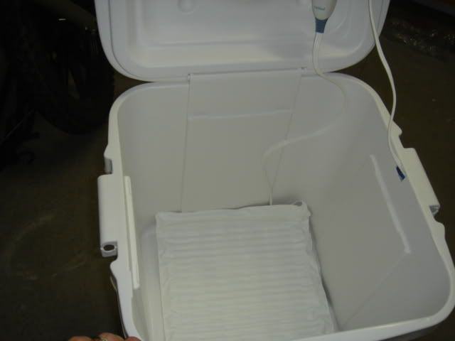 Homemade Towel Warmer....... - Portable Hot Tubs & Spas - Pool and Spa Forum