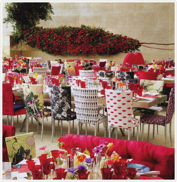 Met-Ball Dinner: Prada Prints, Met Ball Dinners Sigh, Met Gala, 2012 With, Ball Chairs, Fabrics Chairs, Dinners Parties, Chairs Covers, Met Ball Dinners Flowershop