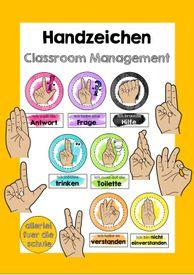 Handzeichen für effektives Classroom Management #SchulstartmitLMP2019 – Unterrichtsmaterial in den Fächern Fachübergreifendes