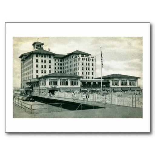 Flanders Hotel Ocean City, New Jersey Vintage Post Cards