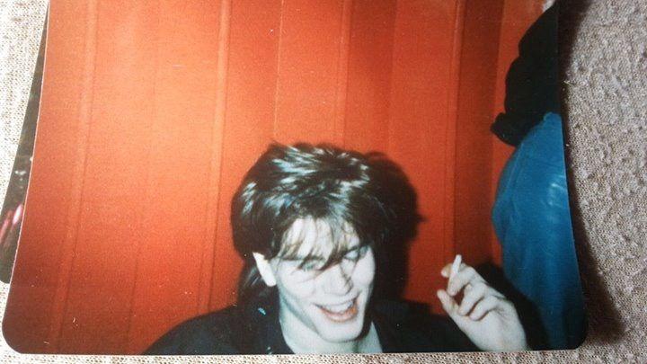 DD at Aston uni Birmingham 1981 before planet earth single came out. — pic by Joson Merrett