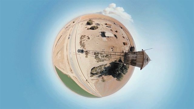 360° Panoramic Music Video for Booka Shade Filmed from a Hexacopter