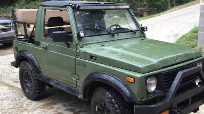 1988 Suzuki Samurai Safari Top W Swampers For Sale In Baton Rouge La