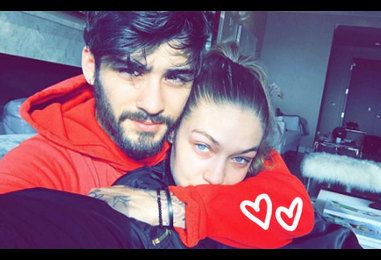 Gigi Hadid & Zayn Malik Snuggle Up In Cute New Selfies!