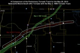 How Moore Tornado Compares to Famous 1999 Twister