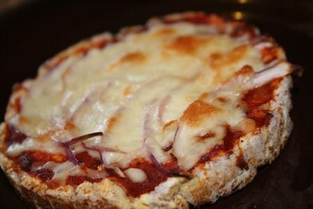 Guiltless Low Cal Pizza Slice Snack