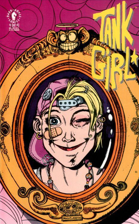 theartofthecover: «Tank Girl Vol.  1 # 4 Искусство по: Джейми Хьюлетт и Крис Чаленор»