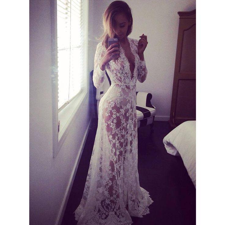 zomer stijl sexy kant transperant witte strand jurk lange kant moederschap jurken zwangere fotografie rekwisieten fancy zwangerschap in Het is een all- jurk passen. Wanneer u naar het strand, het kan overeenkomen met bikini, gaan winkelen, het kan overeenk van jurken op AliExpress.com | Alibaba Groep