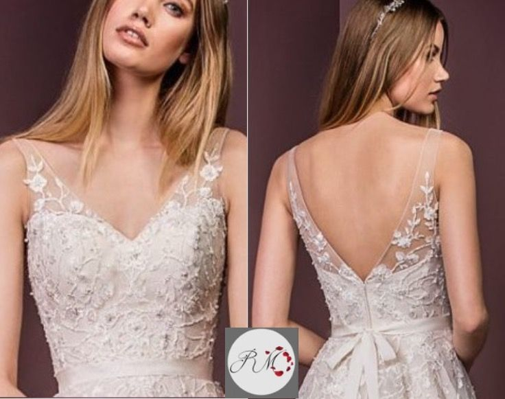 99 Best Images About ADDING STRAPS To A Wedding Gown