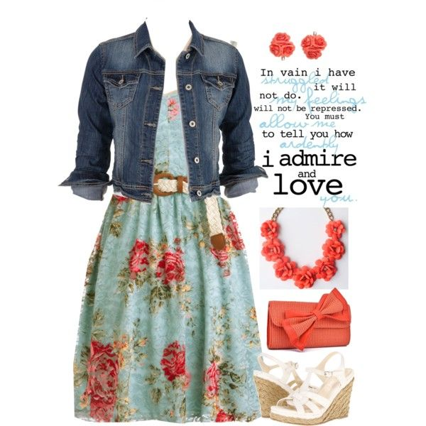 Lacy roses by jamie-burditt on Polyvore featuring maurices, Christin Michaels and Forever 21