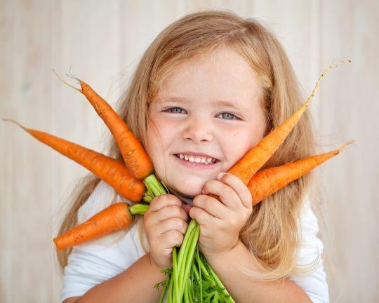 Chcesz, by dziecko jadło warzywa? Nie mów, że to zdrowe!