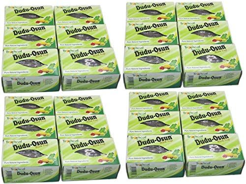 Best Seller Dudu Osun African Black Soap 24 Bars Online In 2020 African Black Soap Black Soap Oil For Dry Skin
