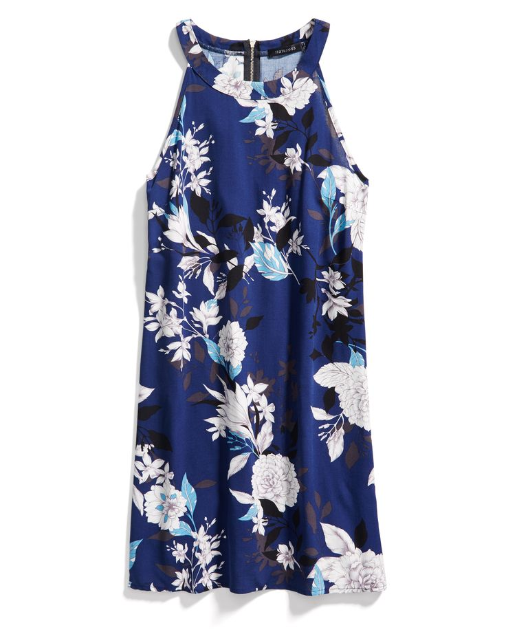 Love this dress - I would wear it with a cardigan all spring and summer! - Stitch Fix Spring Resort Wear: Printed Shift Dress