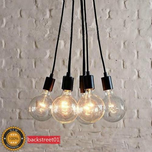 Contemporary Edison Chandelier Light Pendant Lamp Ceiling Hanging - 7 Bulbs New | eBay