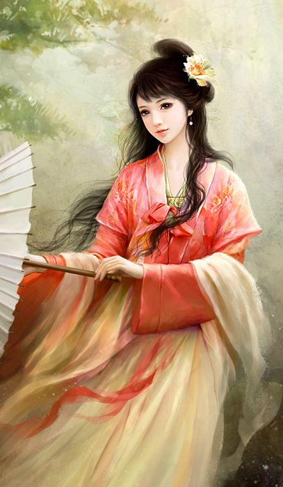 Han Fu painting. Love it. I never can make something like this. Now i'm depressed:(