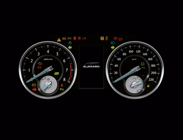Toyota Alphard 2,5G - Interior - Speed meter - First Class Comfort for The Family - AUTO2000