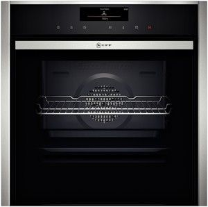 B48VT38N0B  Highlights    Slide&Hide® - the fully retracting oven door       VarioSteam® - Steam assistance for CircoTherm® ovens, that cooks foods moist on the inside and crisp on the outside.       The Multi Point® roast thermometer helps the oven regulate the temperature and automatically adjust the cooking time.       EcoClean - the self-cleaning catalytic coating on the inside top and sides of the oven makes oven cleaning easier.       BottomClean - the special cleaning programme for…