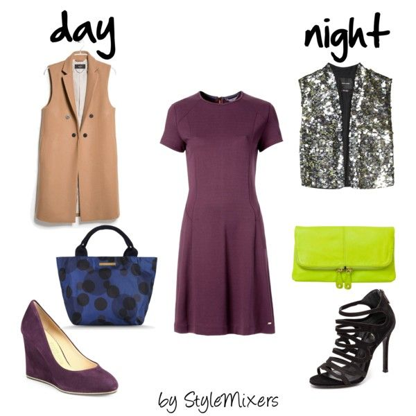 """Swap out your blazer with a modern vest and take your look for from day to night!"" by stylemixers on Polyvore"