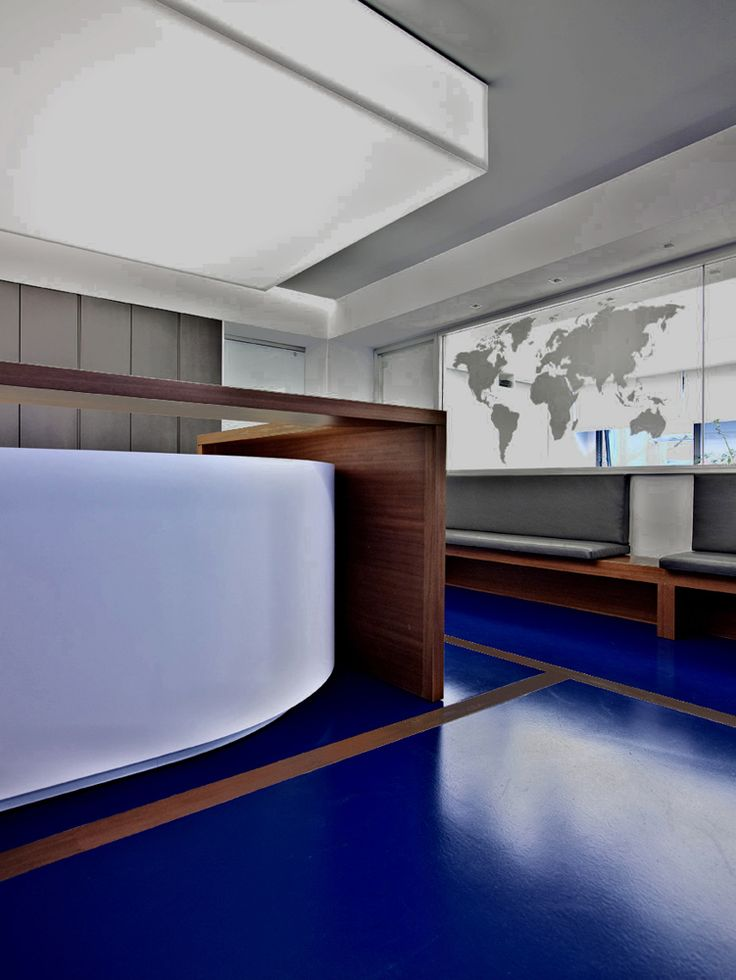 OFFICE SPACES FOR A MARITIME COMPANY #Reception #Detail #Window #Earth #Architecture #Interiordesign #Piraeus #Athens #Greece #Kipseliarchitects